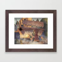 Occupy Gezi Framed Art Print