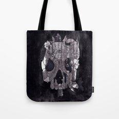 Metal Skull Tote Bag