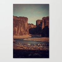 Carved Canvas Print