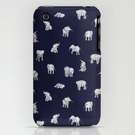 iPhone & iPod Case featuring Indian Baby Elephants In… by Estelle F