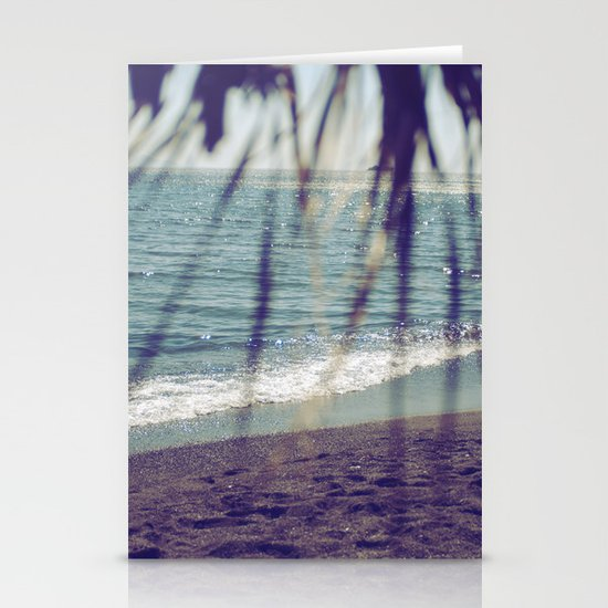 Turquoise Bliss Stationery Card