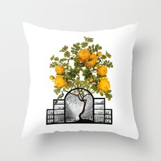 Palm House Section Throw Pillow