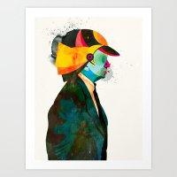 Helmet03 Art Print