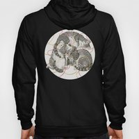 Cats Gold And Rose Hoody