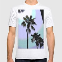 The Palms  Mens Fitted Tee Ash Grey SMALL