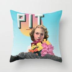PIT Throw Pillow