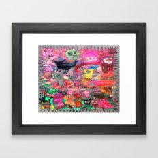 HYPER Framed Art Print