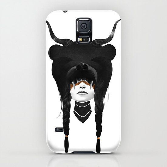 Bear Warrior iPhone & iPod Case