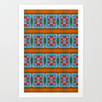 Native Pattern 8 Art Print