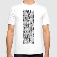 SPRAWL Mens Fitted Tee White SMALL