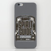 The Ghostbusters Greatest Resource: Tobin's Spirit Guide. iPhone & iPod Skin