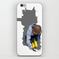 To Live With No Thought … iPhone & iPod Skin