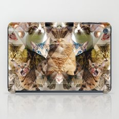 Cat Kaleidoscope iPad Case