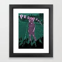 Prrrrrr... Framed Art Print
