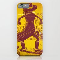 iPhone & iPod Case featuring The Last Showdown - The bad guy by Rodrigo Ferreira