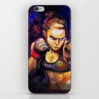Arm Bar Queen iPhone & iPod Skin