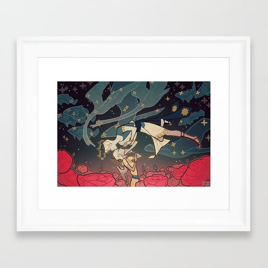 Pari Framed Art Print