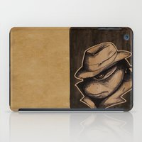 Anger Clouds The Mind iPad Case