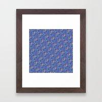 Tiny Mermaids Framed Art Print
