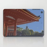 Late Afternoon at Heian Shrine iPad Case
