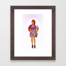 Koriand'r Framed Art Print