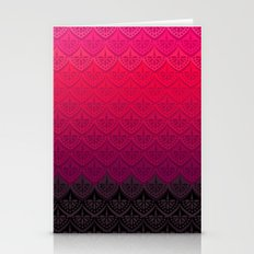 ELENA PATTERN - FLAMENCO VERSION Stationery Cards