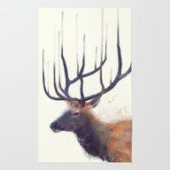 Elk // Reflect (Left) Rug