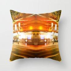 night time lifer Throw Pillow