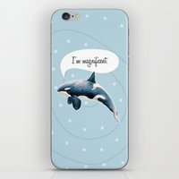 orcinus orca iPhone & iPod Skin