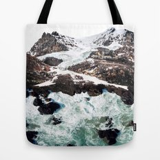Sea and Mountains Tote Bag