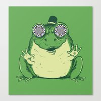Hypnogenic Toad Canvas Print