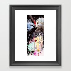 Arrow Tongue Framed Art Print