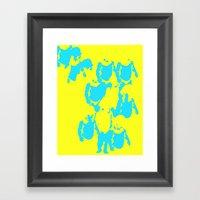 Valitas Yellow Framed Art Print