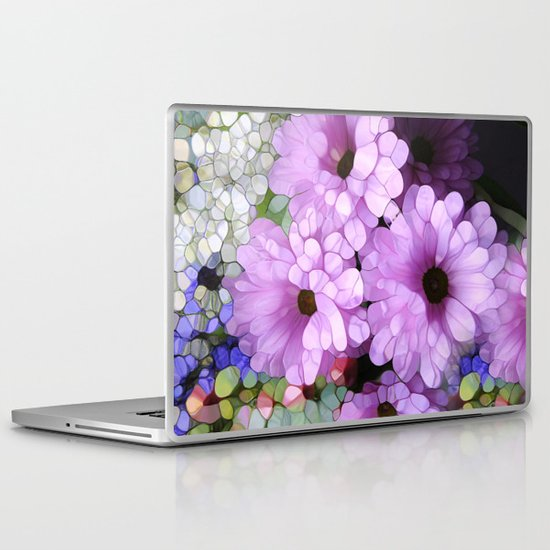 Daisies from the Galaxy Laptop & iPad Skin