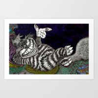 Cheshire Cat HiDef Art Print