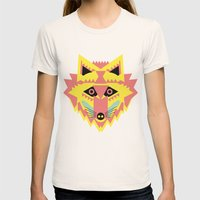 Fabulous Fox Womens Fitted Tee Natural SMALL