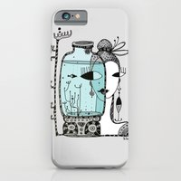 iPhone & iPod Case featuring Fish in the bank by Zina Kazantseva