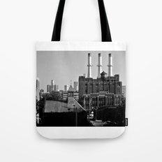 Detroit Cityscape Tote Bag