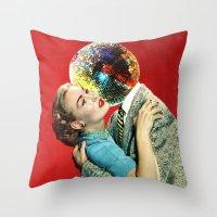 Discothèque Throw Pillow