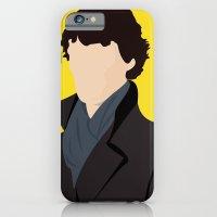 sherlock iPhone & iPod Cases featuring Sherlock by Jessica Slater Design & Illustration