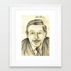 Walt Disney Framed Art Print