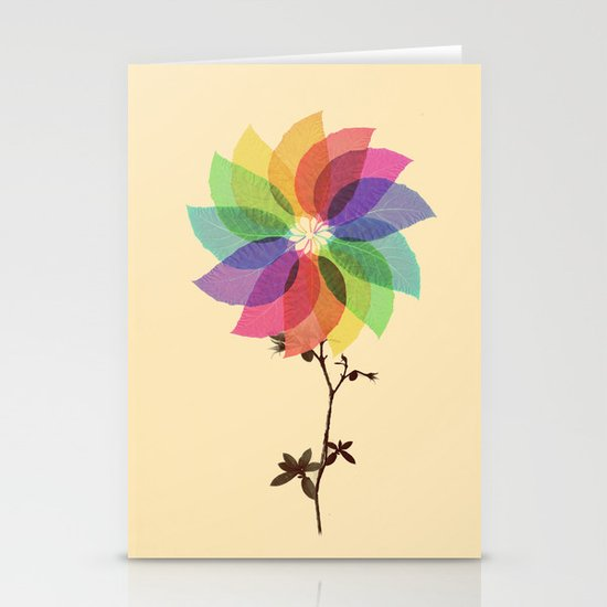 The windmill in my mind Stationery Card