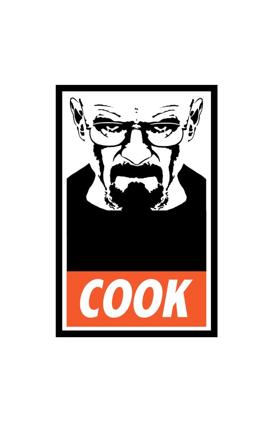 Heisenberg the Cook Art Print