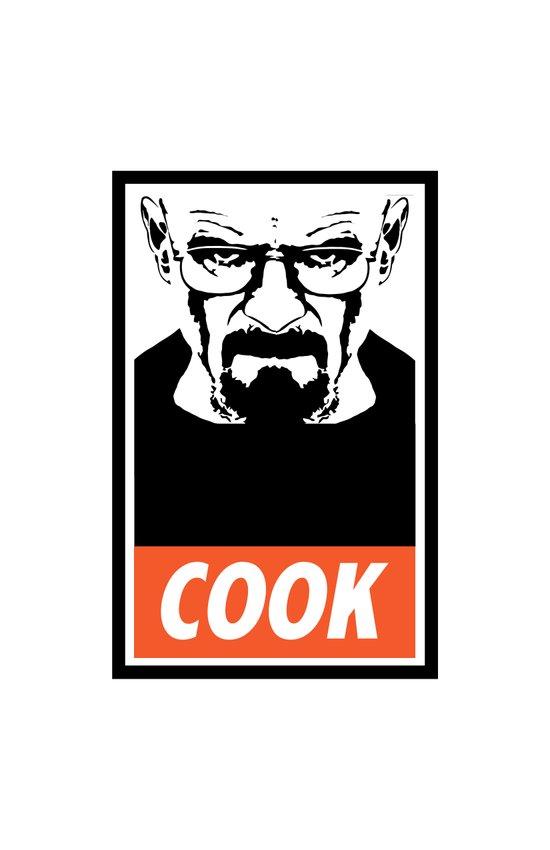 Heisenberg the Cook Art Print