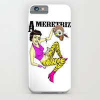 iPhone & iPod Case featuring A meretriz by Marcelo O. Maffei