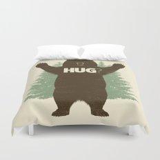 Bear Hug? Duvet Cover