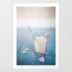 Milk. Art Print