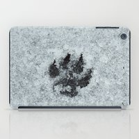 Printed In Snow iPad Case