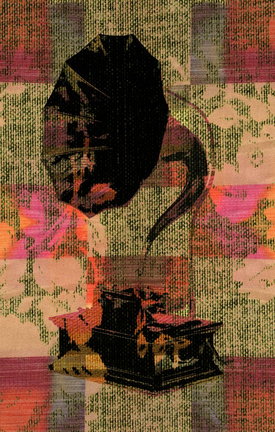Dueling Phonographs VII Art Print