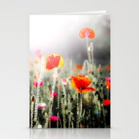 EASTERN FLOWERS Stationery Cards